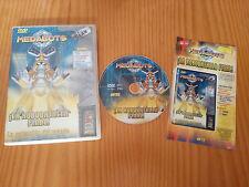 MEDABOTS LA ROBOBATALLA FINAL DVD + EXTRAS 3 CAPITULOS ESPAÑOL ENGLISH