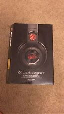 Monster Octagon Over-Ear Headphones - Matte BLACK BRAND NEW 100% Authentic