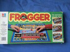 FROGGER BOARD GAME OF THE Arcade Videogioco Classico MB Games 1983