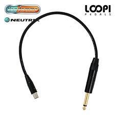AKG WMS40 Wireless Beltpack Lead - Van Damme cable w/ Neutrik Jack Straight