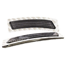 Crystal Smoke Front Bumper Reflectors for BMW F30 3-Series w/ M Sport Package