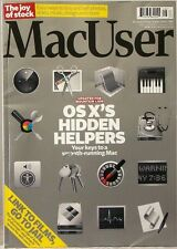 MacUSER Magazine Updated for MOUNTAIN LION  OS X's Hidden Helpers UK Printed
