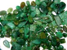 Emerald gemstones faceted Columbia mixed shape size grade 25 carat lots