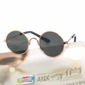 Pet Product Vintage Cat Sunglasses Reflection Eye Wear Glasses Goggles Supplies