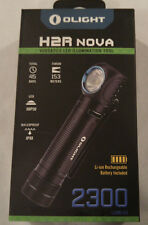 Olight H2R Nova 2300 Lumen Cool Headlamp Headlight Kit w/ Battery & Charger