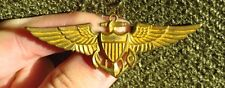 WW2 US Navy Pilots Wing Full Size 2.75  inch Pin Back