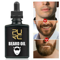 Beard Growth Oil Organic Men Facial Hair Growther Mustache Grow Beard Grooming