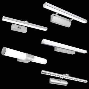 Modern Adjustable LED Mirror Picture Bathroom Wall Light Tube Light Cool White