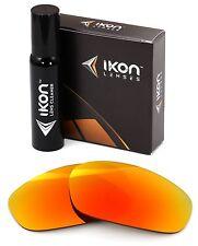 Polarized IKON Iridium Replacement Lenses For Oakley Split Jacket Fire Mirror