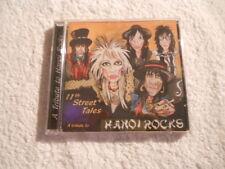 "VVAA ""11th Street Tales"" Rare 2000 cd Tribute to Hanoi Rocks  NEW"