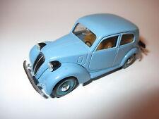 FIAT 1100 (508c) NUOVO BALILLA IN BLU BLEU BLUE, Brumm in 1:43, 9,5 cm long!