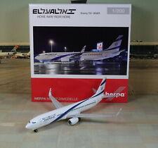 """Herpa Wings EL AL """"Israel"""" Boeing B737-900ER 1/200"""