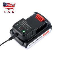 20V Lithium Lion Battery Charger For All Black & Decker LBX20 LBX4020 Series #US