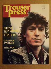 Trouser Press January 1978 Steve Winwood The Jam graham parker Nick Drake