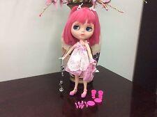 Blythe bambola bjd  custom ooak vintage doll Baby Pinky