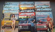 (12) New Uncirculated Autobuff  Car Magazines  #1 included 1982-1984