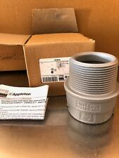 Appleton Electric Es250200 2� Sealing Hub 2-1/2� male Hub M Iron, 2-1/2 to 2