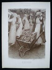 UFF RED CROSS NURSE UNION DE FEMMES DE FRANCE FIRST WORLD WAR WW1 PRINT c1916