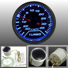 2'' 52mm LED Turbo Boost Press Vacuum Gauge PSI Meter Blue Backlight Universal