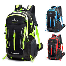 60L Waterproof Camping Backpack Laptop Compartment Sport Travel Hiking Daypack