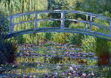 Claude Monet: The Japanese Footbridge. Fine Art Print/Poster