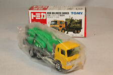 TOMICA TOMY POCKET CARS #56 HINO BULLDOZER CARRIER TRUCK, EXCELLENT, BOXED