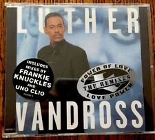 LUTHER VANDROSS - POWER OF LOVE/LOVE POWER - SINGLE CD 662590 2