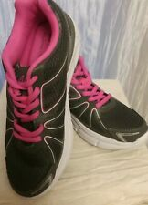 LA GEAR GRAY/PINK Ultra Foam New  RUNNING SHOES SIZE 6 Med Comfort padded insole