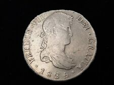 "1825 Bolivia 8 Reales JL ""America's 1st Silver Dollar"" Real Pirate Treasure"