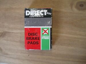 Direct Components Brake Pads for Citroen AX, 1986-89