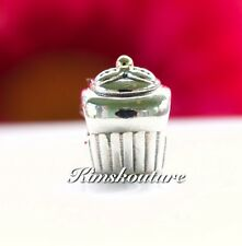 Authentic PANDORA Sterling Silver Cupcake Charm 790417
