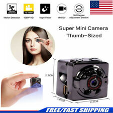 Mini HD Spy Hidden Camera 1080P Motion Night Surveillance Small Video Cam Nanny