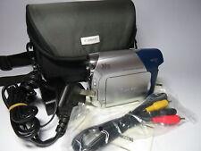 Canon MD101 PAL Mini DV 30x Zoom Compact Camcorder & Canon Case