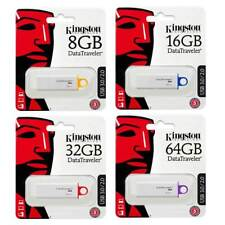 GENUINE KINGSTON DATA TRAVELER G4 USB FLASH MEMORY STICK DRIVE 8GB 16GB 32GB
