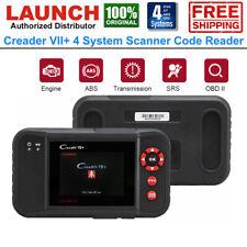 Automotive ABS SRS Engine Transmission Diagnostic Scanner Car OBD2 Code Reader