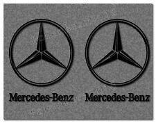 Mercedes Benz Stern 2 Aufkleber  120 x 100 mm ---30 Farben--- MB016