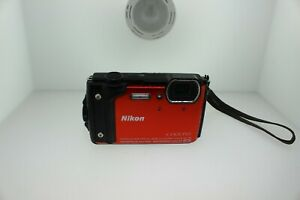 Nikon COOLPIX W300 16.0MP Digital Camera - Orange (26524)