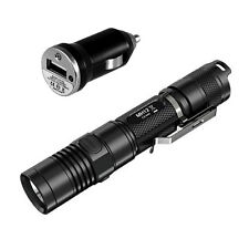 Nitecore MH12 Rechargeable Flashlight 1000lm - Includes USB Cable & Car Adaptor