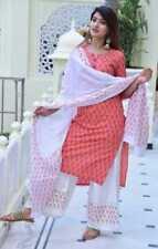 Women Indian Kurta Kurti Bottom Dupatta Dress Anarkali Pakistani Bollywood Tunic