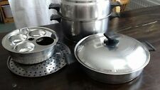 Rena ware Dutch Oven plus Skillet & additional items