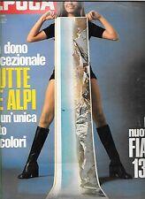 EPOCA 1971 1092 BONATTI MONTE BIANCO FIAT 130 ARESE ALIANTE