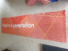 LONDON OLYMPICS 2012 Sign Banner Mint Olympic Memorabilia Inspire a Generation