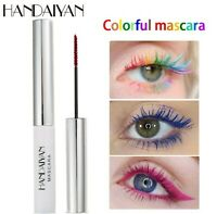 AU Rainbow Multi-coloured Eye Length Eyelash Makeup Bright Colorful Mascara