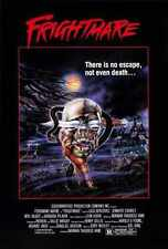 Frightmare 1983 Poster 02 A2 Box Canvas Print
