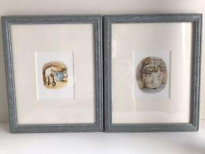 Beatrix Potter framed pictures X 2