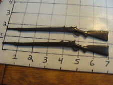 vintage Pair of lead guns