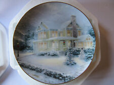 """1993 """"Winter Memories"""" An Old Fashioned Christmas with Thomas Kinkade New in Box"""