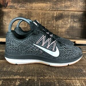 Nike Womens Zoom Winflo 5 AA7414-004 Green Sneaker Athletic Shoes Size 6.5
