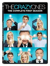 THE CRAZY ONES Complete First Season 1 One DVD Set Series TV Show Robin Williams