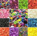 Assorted Mixed Buttons Arts Crafts Card Making Scrapbooking Sewing Round